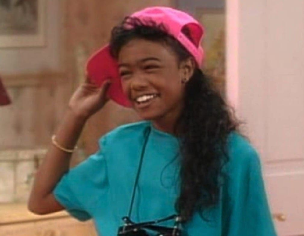 The iconic styles of the women of Fresh Prince of Bel Air