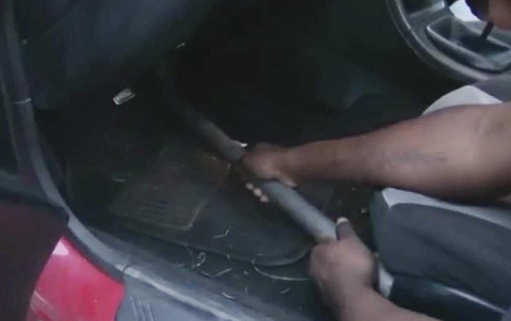 Group of friends find out what happens when you use WD-40 as